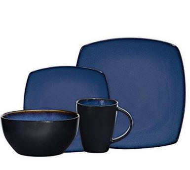 soho blue dinnerware