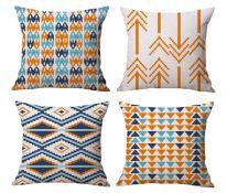 aztec pillow throw